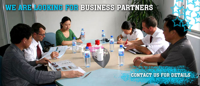 We are looking for Business Partners