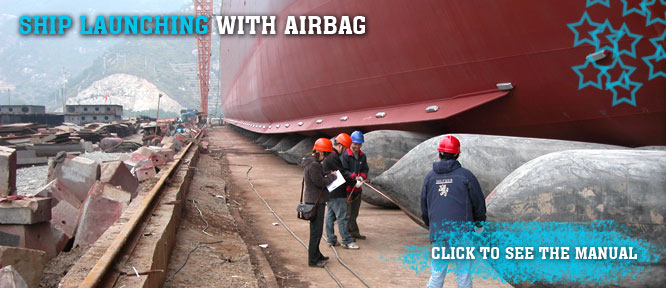 Ship Launching With Airbag