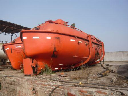 second totally enclosed life boat